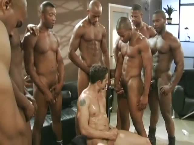 from Deangelo hardcore gay gang bang